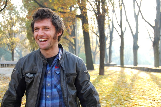 Guy Martin in Latvia