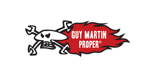 The new Guy Martin Proper ® shop allows fans to buy official products designed and supported by Guy.