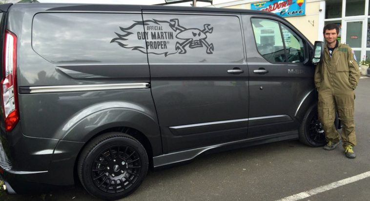 GuyMartinProper.com - M Sport Ford Transit Custom - Guy Martin Racing
